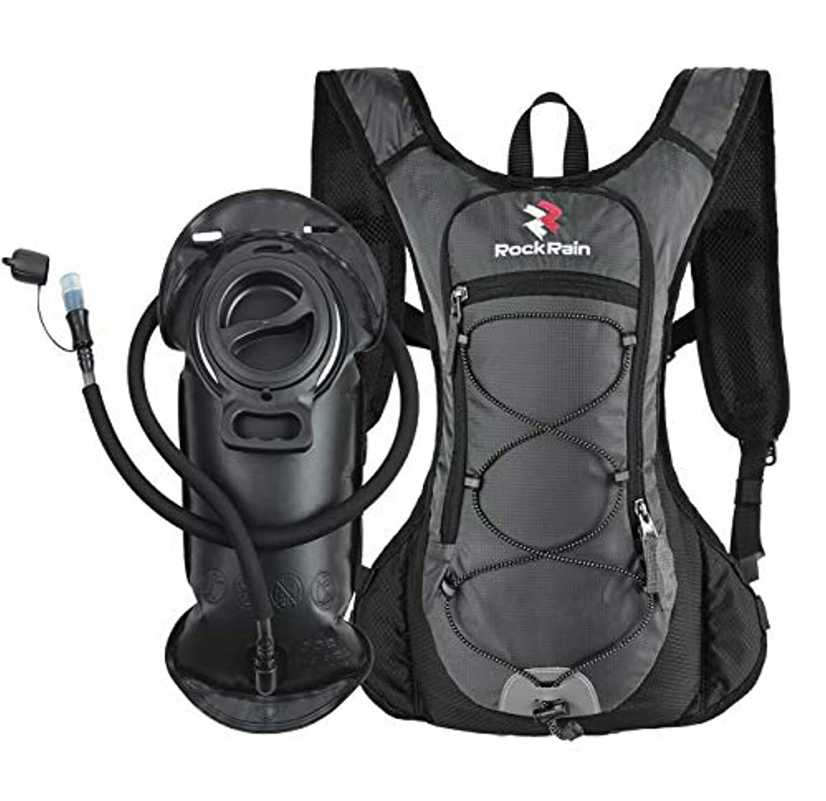 Isermeo Hydration Bladder 2L Water Reservoir for Hiking Camping Cycling BPA Free